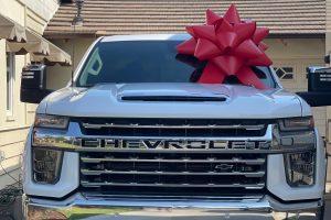 Chevy Car Bow